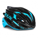 Přilba Kask Mojito black/light blue 2016