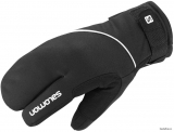 Rukavice Salomon 3 Fingers W Black
