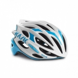 Přilba Kask Mojito white/light blue 2016