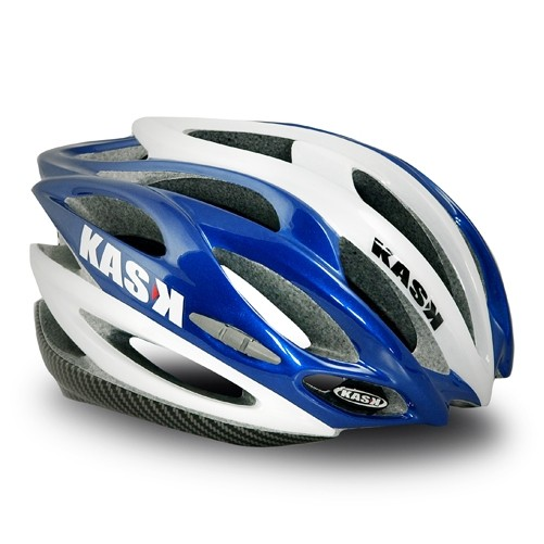 Přilba Kask K.10 Race White/blue 53-61 cm
