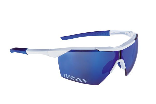 Brýle Salice 004RW White/blue/transparent