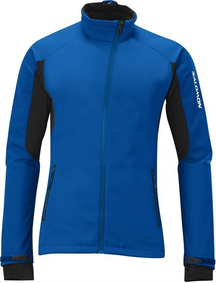 Bunda Salomon Active III Softshell modrá XXL