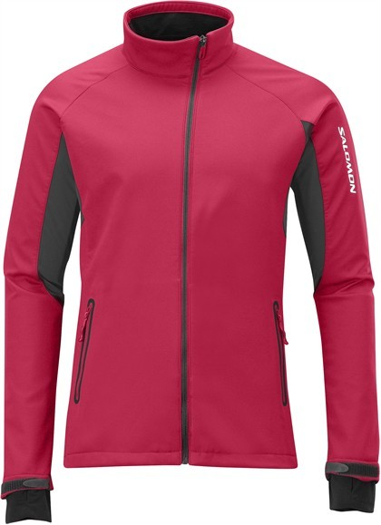 Bunda Salomon Active IV Softshell červená M