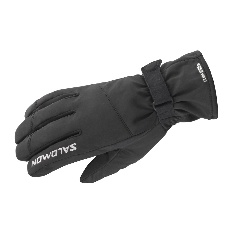 Rukavice Salomon Hybrid U Black XL