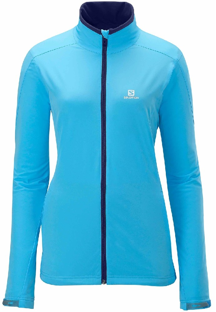 Bunda Salomon Nova Softshell dámská Bay blue M