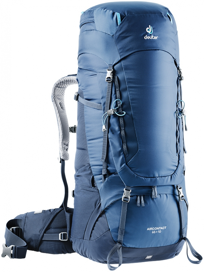 Batoh Deuter Aircontact 65+10 midnight navy