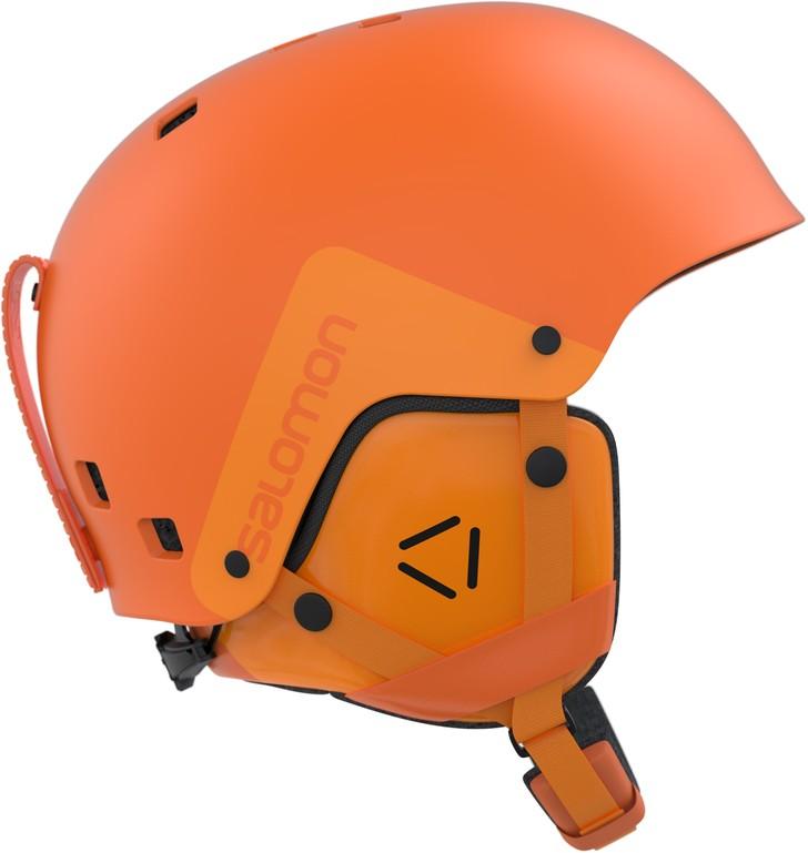 Lyžařská helma Salomon Brigade turmeric orange 17 18 20612958acd