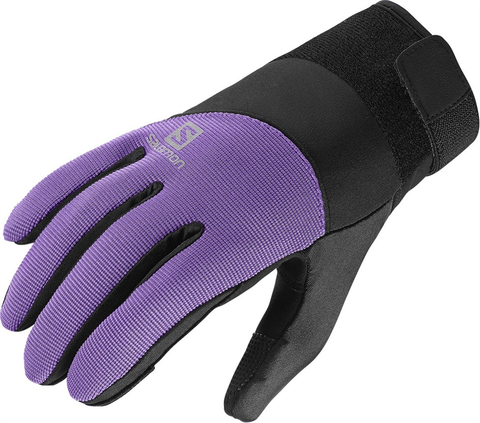 Rukavice Salomon Thermo W Violet-Black 14/15