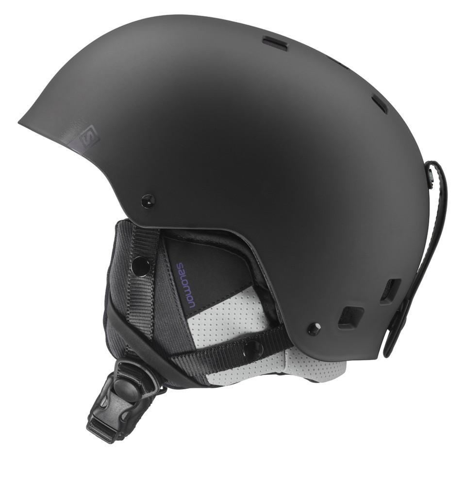 Lyžařská helma Salomon Brigade Black Matt  bb6c27cf465