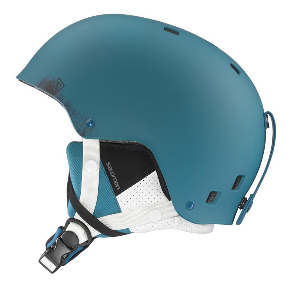 Lyžařská helma Salomon Brigade Blue Matt XL 204d4d66222