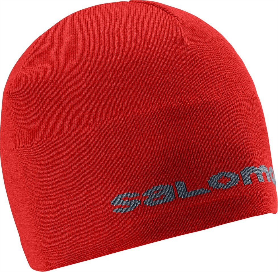 Čepice Salomon Red 14/15