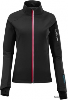 Bunda Salomon Momentum II Softshell Black W vel. S