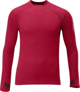 Triko Salomon Fleet LS Red