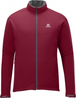 Bunda Salomon Nova Softshell victory red