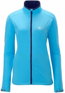 Bunda Salomon Nova Softshell dámská Bay blue