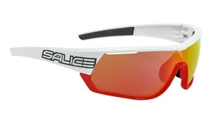 Brýle Salice 016CRX white-red/RW red/clear+CRX smoke