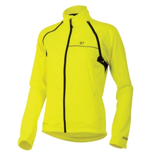 Bunda Pearl Izumi Elite Barrier Convertible dámská screaming žlutá