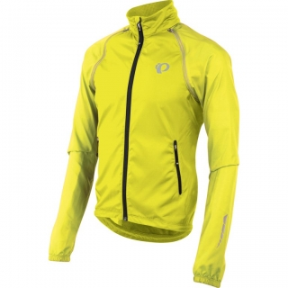 Bunda Pearl Izumi Elite Barrier Convertible screaming žlutá