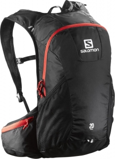 Batoh Salomon Trail 20 black/bright red
