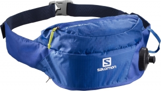 Ledvinka Salomon RS Thermobelt blue/acid lime