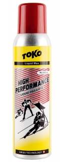 Vosk Toko High Performance Liquid paraffin červený 125ml