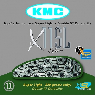 Řetěz KMC X-11 SL Silver Superlight