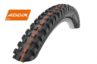 Plášť Schwalbe Magic Mary 26x2,35 Addix Soft SnakeSkin Tubeless-easy černý - kevlar