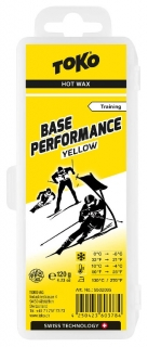 Vosk Toko Base Performance 120g yellow 0/-6°C