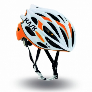 Přilba Kask Mojito White/orange fluo 2016